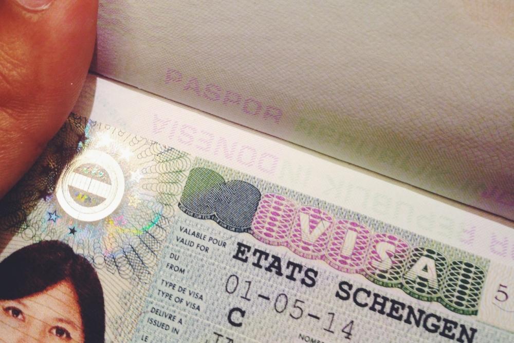 Finally! My Schengen Visa! (1/3)