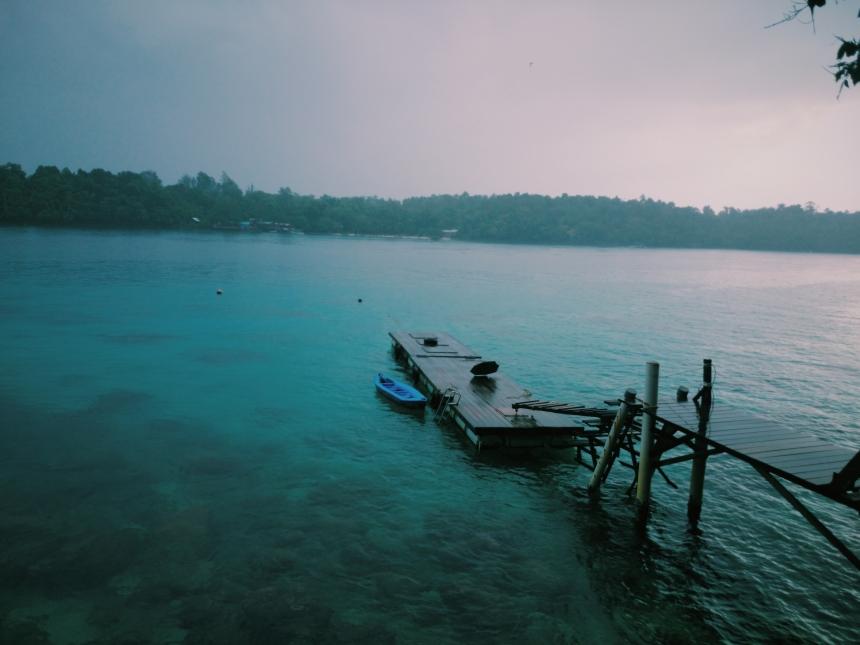 Dock & Restaurant View