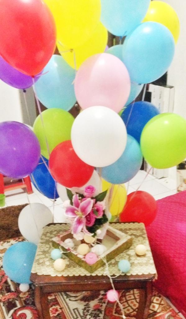 Ballon & Flowers