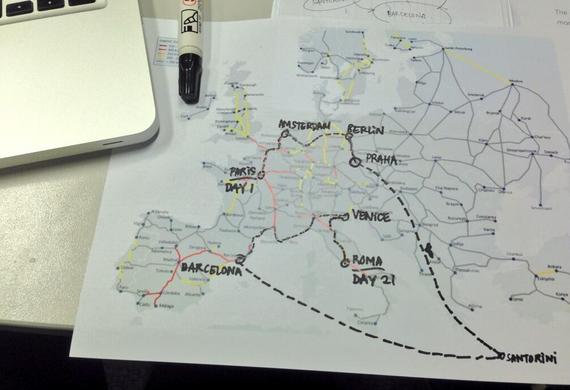 Flashback Preparation #RahneGoesToEurope Trip (1/6)
