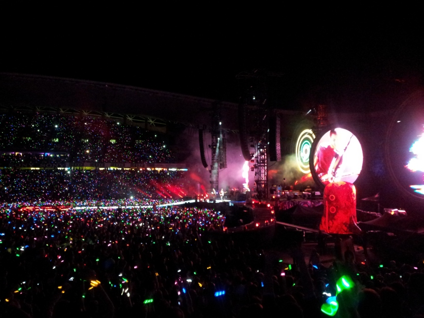 Coldplay Live Sydney 2012