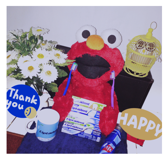 Elmo say thank you @CiptadentID