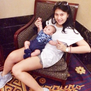 Macha & Baby Al :)