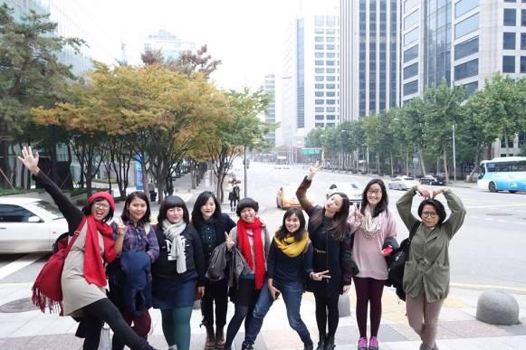 Team building on Korea