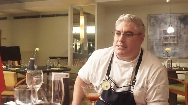 Chef Alex Ensor