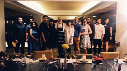 Cerita Eka & partner, Umenumen, Natalia & Partner, Teppy, Maria, Joni, Chef Alex Ensor