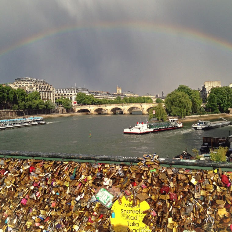 Rainbow & #LoveLocks