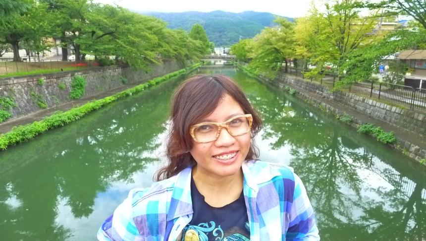 Selfie @ Kyoto, Japan 2012.