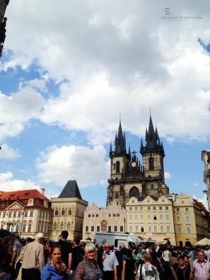 Semacam alun alun di Prague