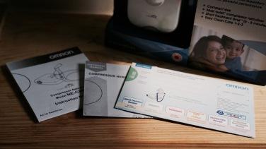 Dapat kartu garansi dan petunjuk pemakaian