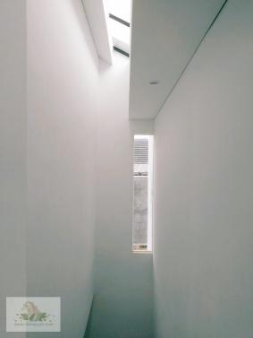 Pemandangan dari tangga