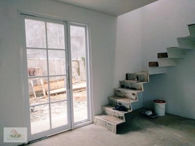 View dari soon to be ruang keluarga & ruang tamu & meja makan (haha multifungsi)