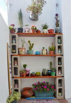 Tempat pot pot kecil